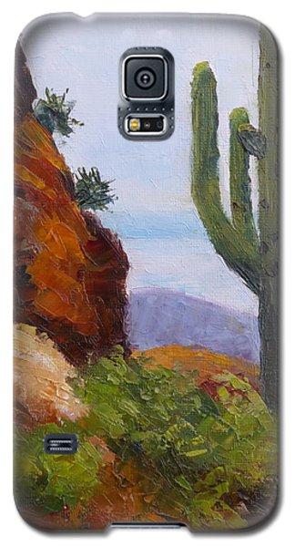At Javelina Rocks Galaxy S5 Case