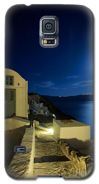 Galaxy S5 Case featuring the photograph At Midnight by Aiolos Greek Collections