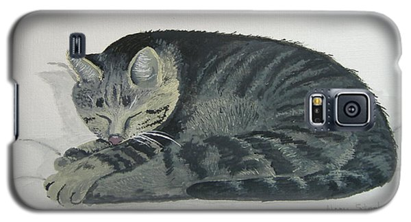 Galaxy S5 Case featuring the painting At Rest by Norm Starks