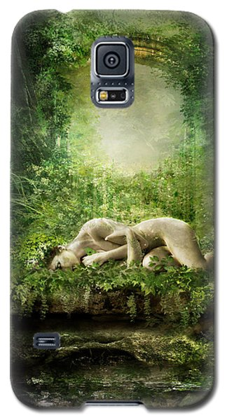 Elf Galaxy S5 Case - At Sleep by Karen Koski