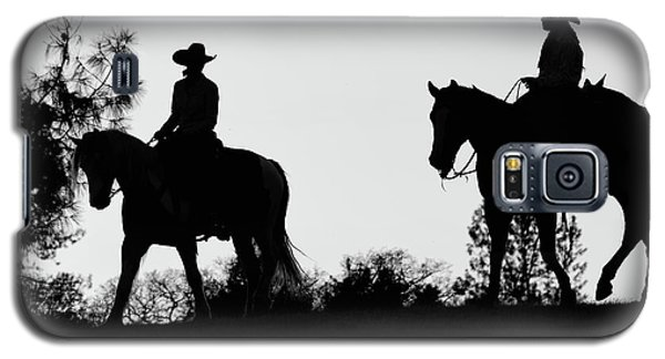 At Sunset On The Ranch Galaxy S5 Case