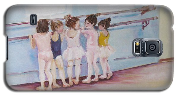 At The Barre Galaxy S5 Case by Julie Todd-Cundiff