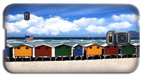 Galaxy S5 Case featuring the photograph At The Beach by David Dehner