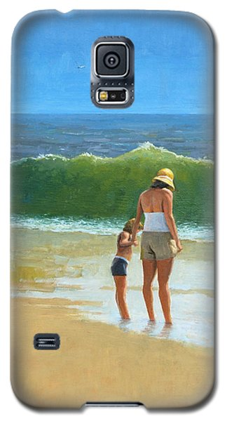 At The Beach Galaxy S5 Case