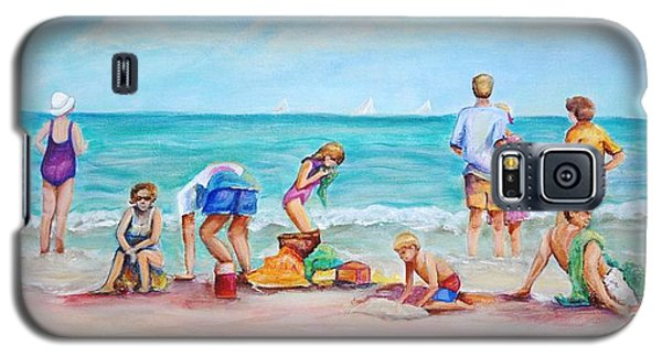 At The Beach Galaxy S5 Case by Patricia Piffath