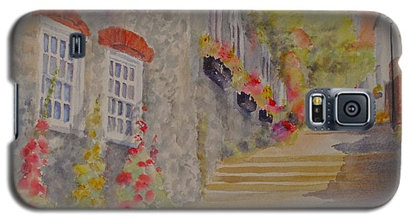 Galaxy S5 Case featuring the painting At The Bottom Of Church Hill Hythe Kent by Beatrice Cloake