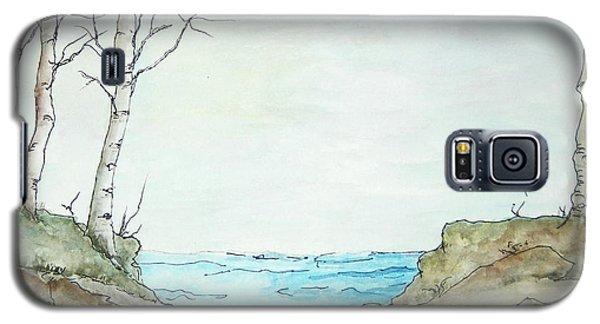 At The Lake Galaxy S5 Case