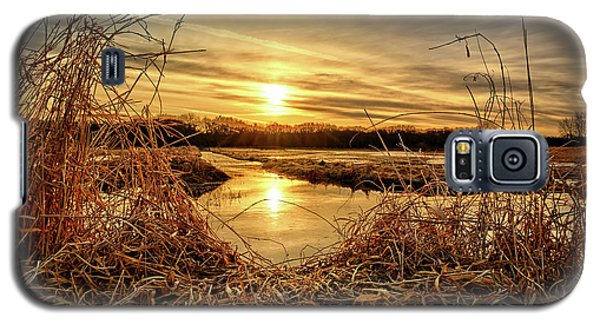 At The Rivers Edge Galaxy S5 Case by Bonfire Photography