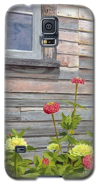 Galaxy S5 Case featuring the painting At The Shelburne by Lynne Reichhart