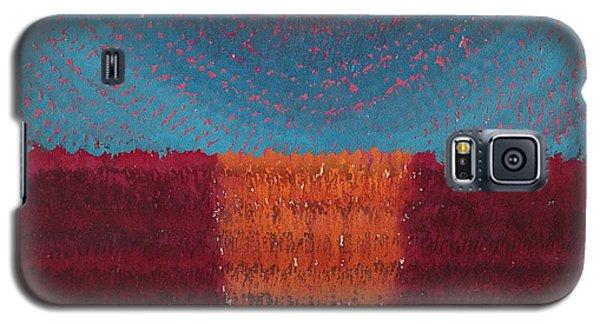 At World's Beginning Original Painting Galaxy S5 Case