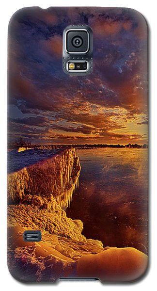 Galaxy S5 Case featuring the photograph At World's End by Phil Koch