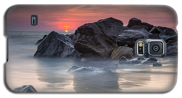 Atardecer En La Playa Galaxy S5 Case