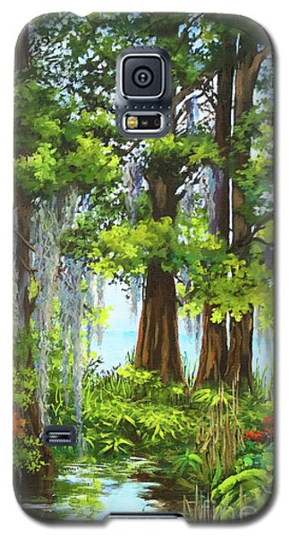 Atchafalaya Swamp Galaxy S5 Case by Dianne Parks