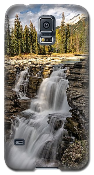 Athabasca Falls Galaxy S5 Case by John Gilbert