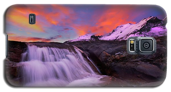 Athabasca On Fire Galaxy S5 Case