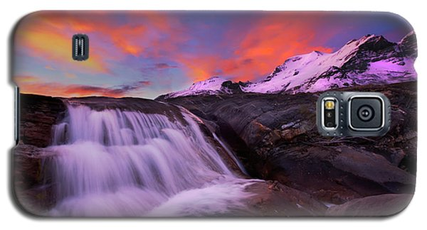 Athabasca On Fire Galaxy S5 Case by Dan Jurak