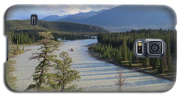 Athabasca River - Jasper Galaxy S5 Case