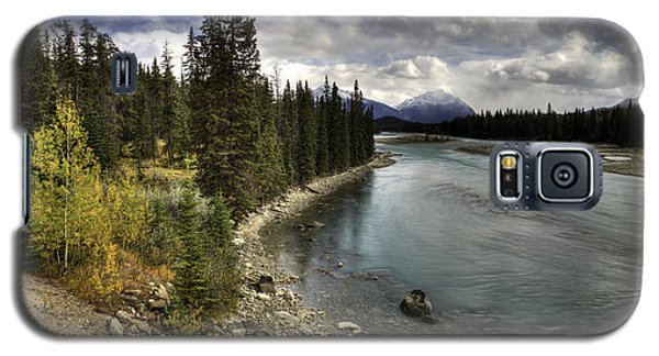 Athabasca River Galaxy S5 Case by John Gilbert