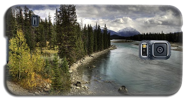 Athabasca River Galaxy S5 Case