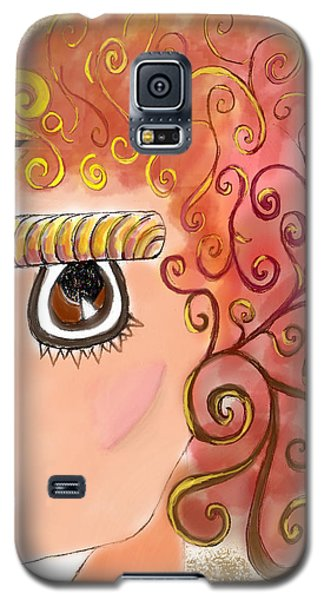 Athena In The Mirror Galaxy S5 Case