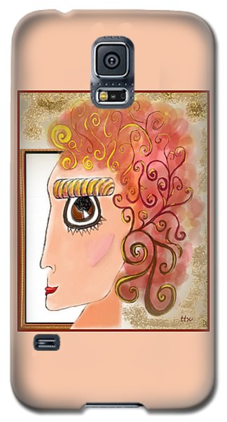Athena In The Mirror Galaxy S5 Case
