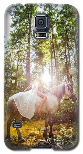 Athena's Radiance Galaxy S5 Case by Dario Infini