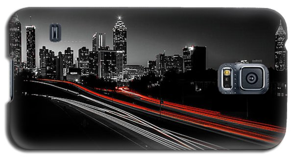 Atlanta Black And White Galaxy S5 Case