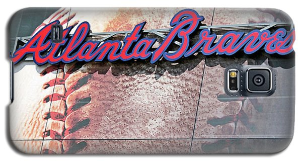 Galaxy S5 Case featuring the photograph Atlanta Braves by Kristin Elmquist