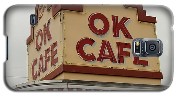 Atlanta Classic Ok Cafe Atlanta Restaurant Art Galaxy S5 Case