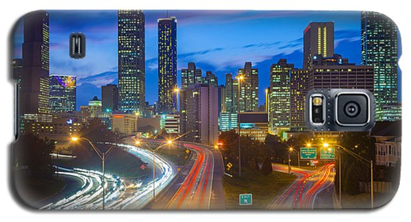 Atlanta Downtown By Night Galaxy S5 Case