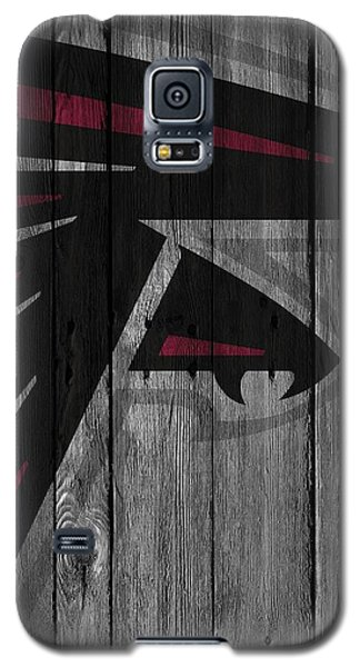 Atlanta Falcons Wood Fence Galaxy S5 Case