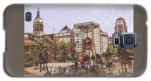 Atlanta Georgia Usa - Color Pencil Galaxy S5 Case