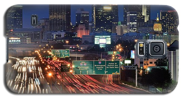 Atlanta Heavy Traffic Galaxy S5 Case by Frozen in Time Fine Art Photography