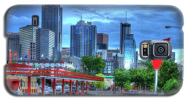 Atlanta Landmark The Varsity Art Galaxy S5 Case