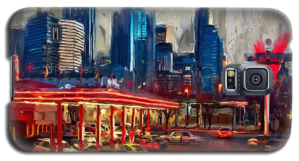 Atlanta Skyline 231 1 Galaxy S5 Case by Mawra Tahreem