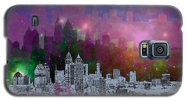 Landscapes Galaxy S5 Case - Atlanta Skyline 7 by Alberto RuiZ