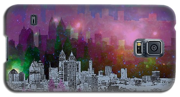Atlanta Skyline 7 Galaxy S5 Case by Alberto RuiZ