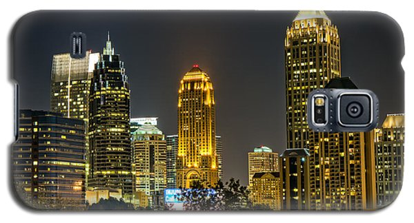 Galaxy S5 Case featuring the photograph Atlanta Skyscrapers  by Anna Rumiantseva