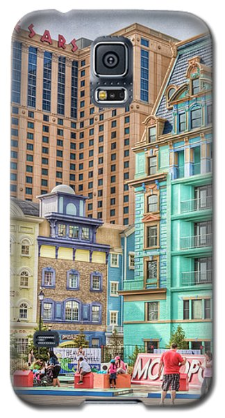 Galaxy S5 Case featuring the photograph Atlantic City Boardwalk by Matthew Bamberg