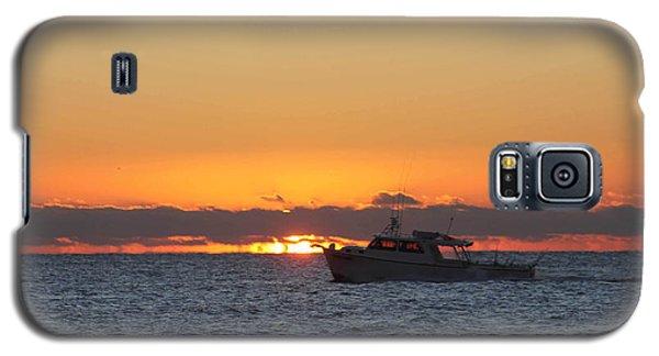 Atlantic Ocean Fishing At Sunrise Galaxy S5 Case