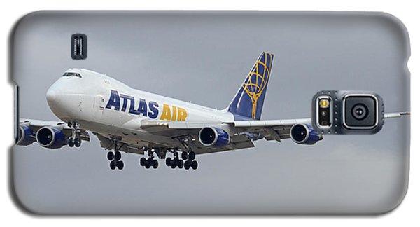 Atlas Air Boeing 747-47uf N415mc Phoenix Sky Harbor December 23 2015  Galaxy S5 Case