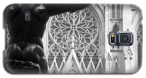 Atlas And St. Patrick's Cathedral Galaxy S5 Case