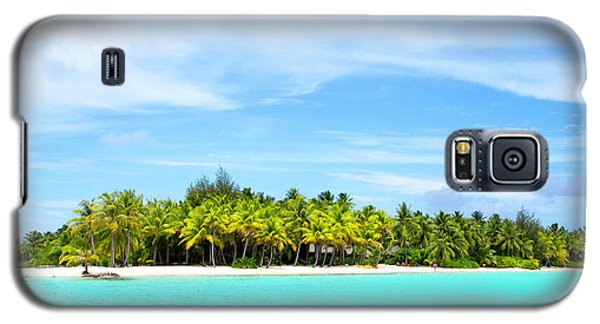 Galaxy S5 Case featuring the photograph Atoll by Sharon Jones