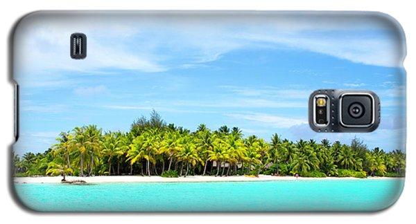 Atoll Galaxy S5 Case by Sharon Jones