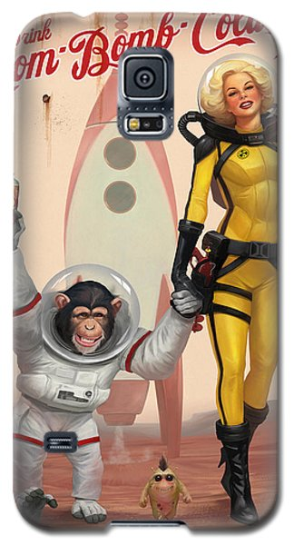 Atom Bomb Cola - Out Of This World Taste Galaxy S5 Case