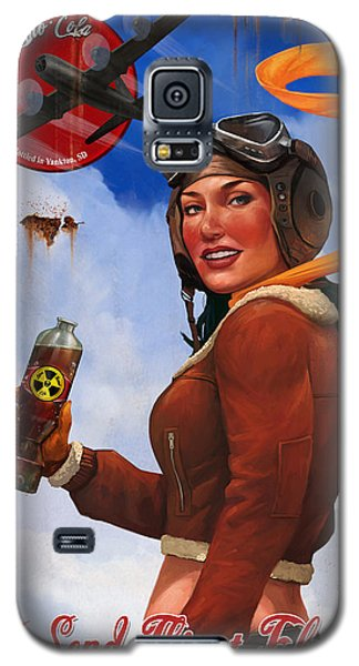 Atom Bomb Cola Send Thirst Flying Galaxy S5 Case