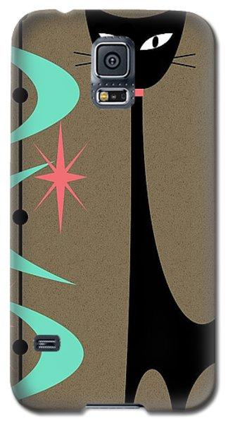 Atomic Cat Aqua And Pink Galaxy S5 Case