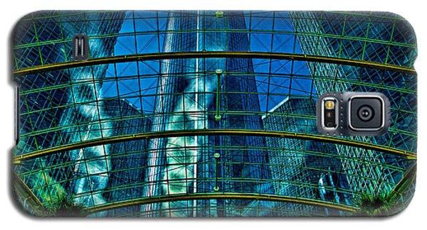 Atrium Gm Building Detroit Galaxy S5 Case
