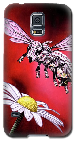Attack Of The Silver Bee Galaxy S5 Case