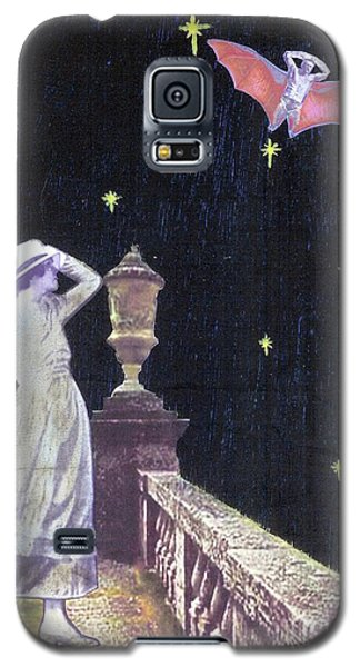 Galaxy S5 Case featuring the mixed media Attempted Pick Up by Desiree Paquette